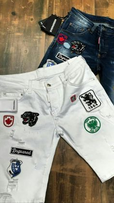 b2057d7d Teen Pants, Love Jeans, Jeans Style, Patchwork Jeans, Denim Pants, Jean