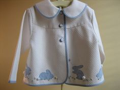 Gail Doane's jacket with bunny appliques