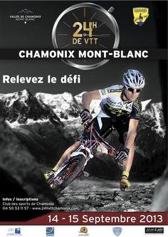 24h VTT de Chamonix. Du 14 au 15 septembre 2013 à Chamonix Mont Blanc.