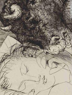 Pablo Picasso  Minotaure