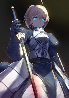Earnest Anime Fatego Joan Of Arc Saber Cosplay Costume Men Women Gift Halloween Stage Magical Prop 1 Piece Drop Ship Costumes & Accessories