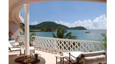 The World's Best Balconies- Curtain Bluff, Antigua