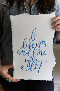 Watercolor #writeondesign