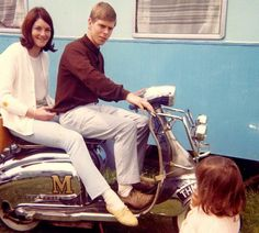 David Bowie as a young mod