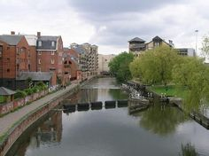 River Kennet, Reading City