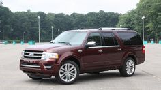 With its torquey and refined turbo V6, the Expedition offers class-leading towing. Whatever can't be dragged out back will likely fit inside, as this Ford has a huge cabin and a massive cargo hold.