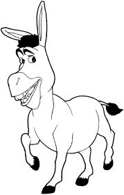 Draw Pattern - How to draw Donkey from Shrek with easy step by step drawing tutorial. Disney Drawings, Cartoon Drawings, Easy Drawings, Drawing Sketches, Easy Sketches, Shrek Drawing, Donkey Drawing, Shrek Donkey, How To Draw Steps