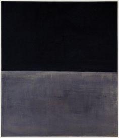 Mark Rothko (Black on Gray)