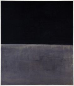 Untitled (black on gray), 1969/1970 by Mark Rothko