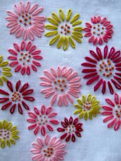 Embroidery - pretty simplicity