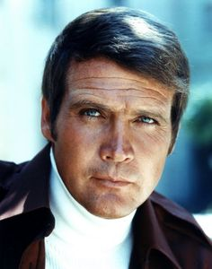 Lee Majors and his turtleneck