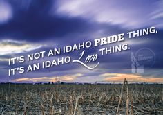 This is our Idahome.