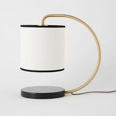 Lamp at desk?  $119 Dean Marble Table Lamp #westelm