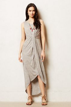Knotted Jersey Maxi Dress by Everleigh #anthropologie