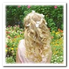 Easy Wedding Hairstyles For Little Girls