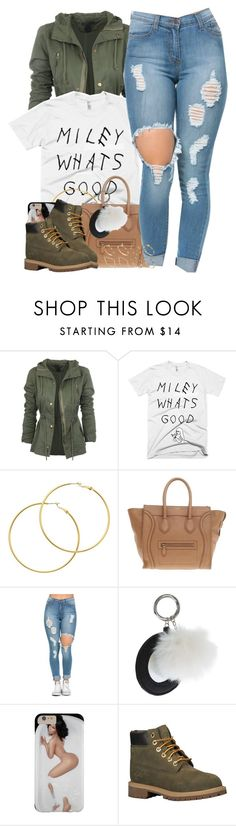 """""""Wass Good?"""" by msyorkieluver ❤ liked on Polyvore featuring Melissa Odabash, CÉLINE, Topshop, Timberland, ASOS, women's clothing, women's fashion, women, female and woman"""