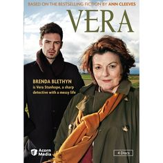 Vera - A British TV mystery series based on a series of books written by Ann Cleeves.