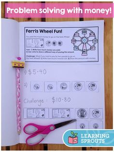 Fun Australian money problem solving tasks for year 1 - 3 students with a carnival theme. More