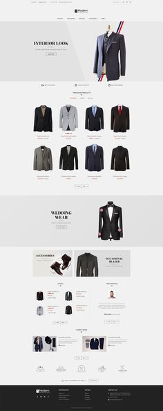 #Suit #Luxury #eCommerce #Modern - #Opencart Multi Purpose #Responsive #Theme