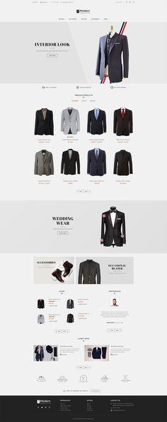 #Suit #Luxury #eCommerce #Modern - #Opencart Multi Purpose #Responsive #Theme