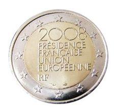 Francia - 2 Euro, Presidenza Europea, 2008