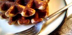 Almond flour coconut waffles