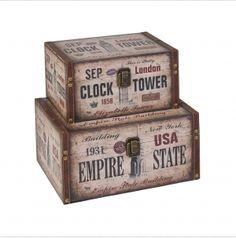 Customised Design Craft Storage Boxes