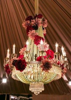 Isnt this beautiful Chandelier..