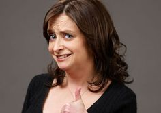 Rachel Dratch not exactly a beauty, but I love her! Just looking at her cracks me up My Celebrity Look Alike, David Rose, Impractical Jokers, Celebs, Celebrities, Mustache, Love Her, Comic, People