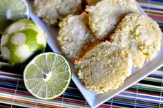 Gluten Free Coconut Lime Cookies