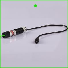 54.00$  Watch now  - 20mw 532nm Dot green laser module with power adapter 16x72mm plug and use