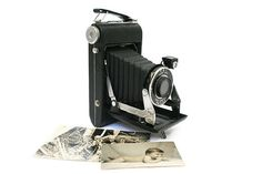 Vintage Folding Camera by Eastman Kodak by BlueMoonCollectibles