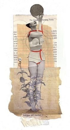 These are collages by Lillianna Pereira. Make sure to check out her flickr page for an assortment of her work.