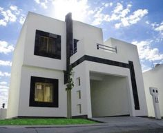 Pin de iris padilla campos en fachadas house design icf for Fachadas de casas modernas de interes social