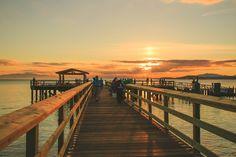 davis bay pier / sunshine coast, bc / summer sunset - jennifer picard photography
