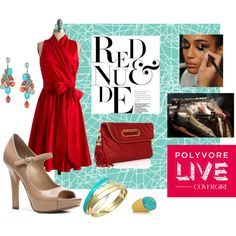 Imaging I was at Polyvore Live...