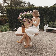 Finding the perfect rehearsal dinner dresses can be just as hard as finding The Dress. We've got 10 rehearsal dress ideas for the brides! White Dress Outfit, White Silk Dress, White Dress Summer, Dress Outfits, Rehearsal Dinner Outfits, Rehearsal Dress, Rehearsal Dinners, Two Piece Gown, Pantsuits For Women