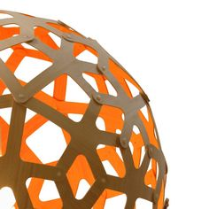 357€ David Trubridge - Coral Light Natural/Orange - 40cm