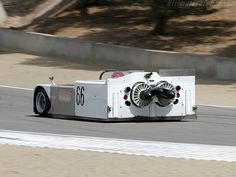 Chaparral 2J.-I remember this at Riverside Raceway, qualified on front row, that huge vacuum in the back cleaned the track and blew grit all over the next 3 rows of cars. Got banned.