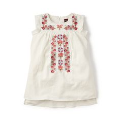 Rosario Cross Stitch Dress: Pout Baby and Kids - unique kids clothing, accessories and more in Fargo, ND