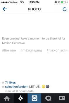 I take several moments everyday to appreciate Maxon