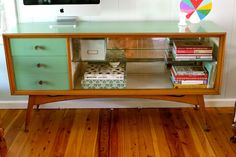 If only we could find something similar as a tv stand - Vintage sideboard