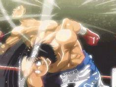 Hajime no Ippo-Dempsey Roll en action