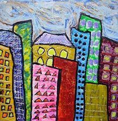 Mini City 4 by Bethany Handfield  ~  x