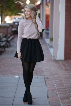 Skirt shop dress up, black pleated skirt, closet essentials, winter looks, Cute Outfits With Shorts, Preppy Outfits, Preppy Style, Short Outfits, Fall Outfits, My Style, Shop Dress Up, Hipster Crop Tops, Black Pleated Skirt