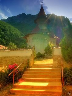 Romania- Monastery of Ramet Places Around The World, Travel Around The World, The Places Youll Go, Places To See, Around The Worlds, Wonderful Places, Beautiful Places, Amazing Places, Visit Romania