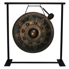 Thai Temple Gong | From a unique collection of antique and modern decorative objects at http://www.1stdibs.com/furniture/more-furniture-collectibles/decorative-objects/