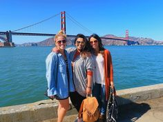 #StarsOfTheShow || These two. Man. They've got no idea how much I love having them in my life. I don't know why they chose to be my friend but I thank God they did.  || @alexisabc7 @deannacruz #igers_sf #whatsetwearing #girlsweekend #goldengate