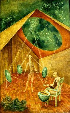 Creación Con Rayos Astrales 1955, Remedios Varo.