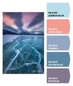 Instantly turn any picture into a palette with ColorSnap, created for you by Sherwin-Williams. Colour Schemes, Color Combos, Color Patterns, Wall Colors, Playroom Colors, Paint Colors, Paint Sample Cards, Colours That Go Together, Girls Bedroom Colors